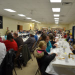 Crowd at Lodge Supper