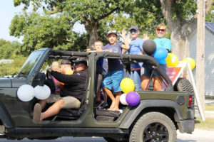 Jeep in Parade