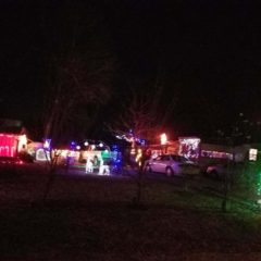 Christmas Lights in Elk Cityby Jane Osburn