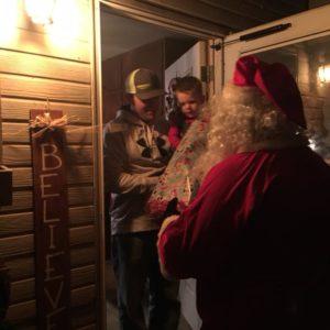 Santa delivers to every kid in Elk City by Melinda Bennett